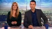 חיים אתגר וסיוון כהן באולפן תוכנית הבוקר של ערוץ 10 (צילום מסך: ערוץ 10)