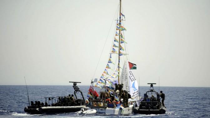 """חיילי צה""""ל על הסירה איירין (צילום: דובר צה""""ל. לחצו להגדלה)"""