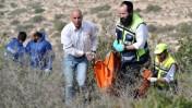 מציאת גופתה של קריסטין לוגן בהרי ירושלים. 19.12.10 (צילום: יואב ארי דודקביץ)