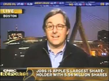 דן ליונס בעימות עם ג'ים גולדמן ברשת CNBC