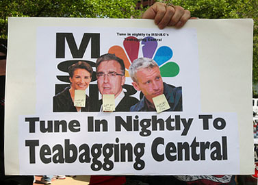כרזה בהפגנה של תנועת מסיבת-התה בטמפה, 15.4.10 (צילום: juxtapose^esopatxuj, רשיון cc)