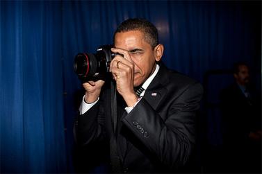 """נשיא ארה""""ב ברק אובמה. אריזונה, 18.2.09 (צילום: פיט סוזה, הבית הלבן)"""