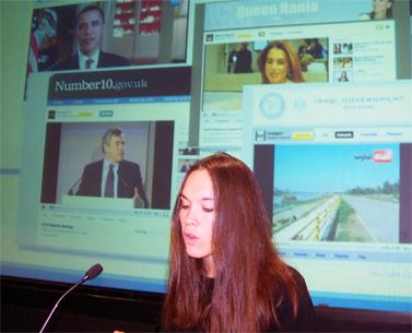 אוליביה מה, מנהלת חדשות בצוות החדשות והפוליטיקה של יו-טיוב (צילום: עידו קינן, חדר 404, cc-by-sa)