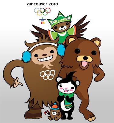 הקמעות של אולימפיאדת החורף בוונקובר, ועוד דוב אחד