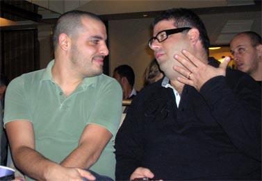 """רותם דנון (משמאל) (צילום: """"העין השביעית"""")"""