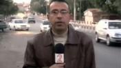 כתב חדשות ערוץ 2 סמי עג'רמי מדווח על התגובות בעזה למסמכי הרשות שנחשפו באל-ג'זירה. ינואר 2011 (צילום מסך)