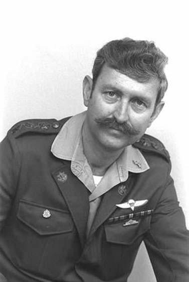 """תא""""ל יצחק שני, הצנזור הצבאי הראשי, 1977–2000 (צילום: יעקב סער, לע""""מ, 1.2.1977)"""