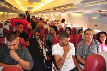 ישראלים בטיסה לטורקיה (צילום: שי לוי)