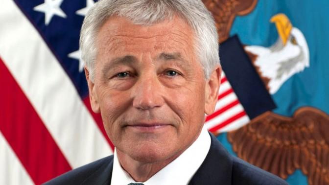 """צ'אק הייגל, שר ההגנה של ארה""""ב (צילום: Secretary of Defense, רישיון: CC BY 2.0)"""