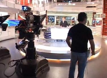 אולפן חדשות ערוץ 2 (צילום מסך)
