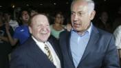 שלדון אדלסון (משמאל) ובנימין נתניהו, באירוע של פרויקט תגלית בירושלים, אוגוסט 2007 (צילום: פלאש 90)