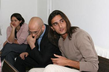 ינאי לאלזה, אתמול בבית המשפט בירושלים (צילום: פלאש 90)