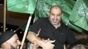 קבלת פנים בחברון לאיש חמאס עיסא אל-ג'עברי, ששוחרר מהכלא אתמול (צילום: פלאש 90)