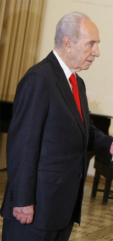 נשיא המדינה שמעון פרס (צילום: פלאש 90)