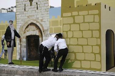 העיר העתיקה בירושלים, אתמול (צילום:מיכל פתאל)