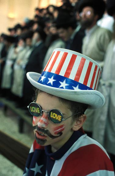 ילד מחופש, פורים 2008 (צילום: סרג' אטאל)