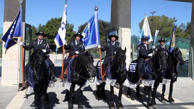 משמר הכנסת, אתמול (צילום: יצחק הררי, פלאש 90)