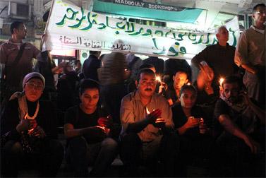 """תהלוכה ועצרת זיכרון להרוגי """"טבח מסאפרו"""", שלושה ימים לאחריו, בקהיר (צילום: עומר רוברט המילטון, cc-by-nc-sa)"""