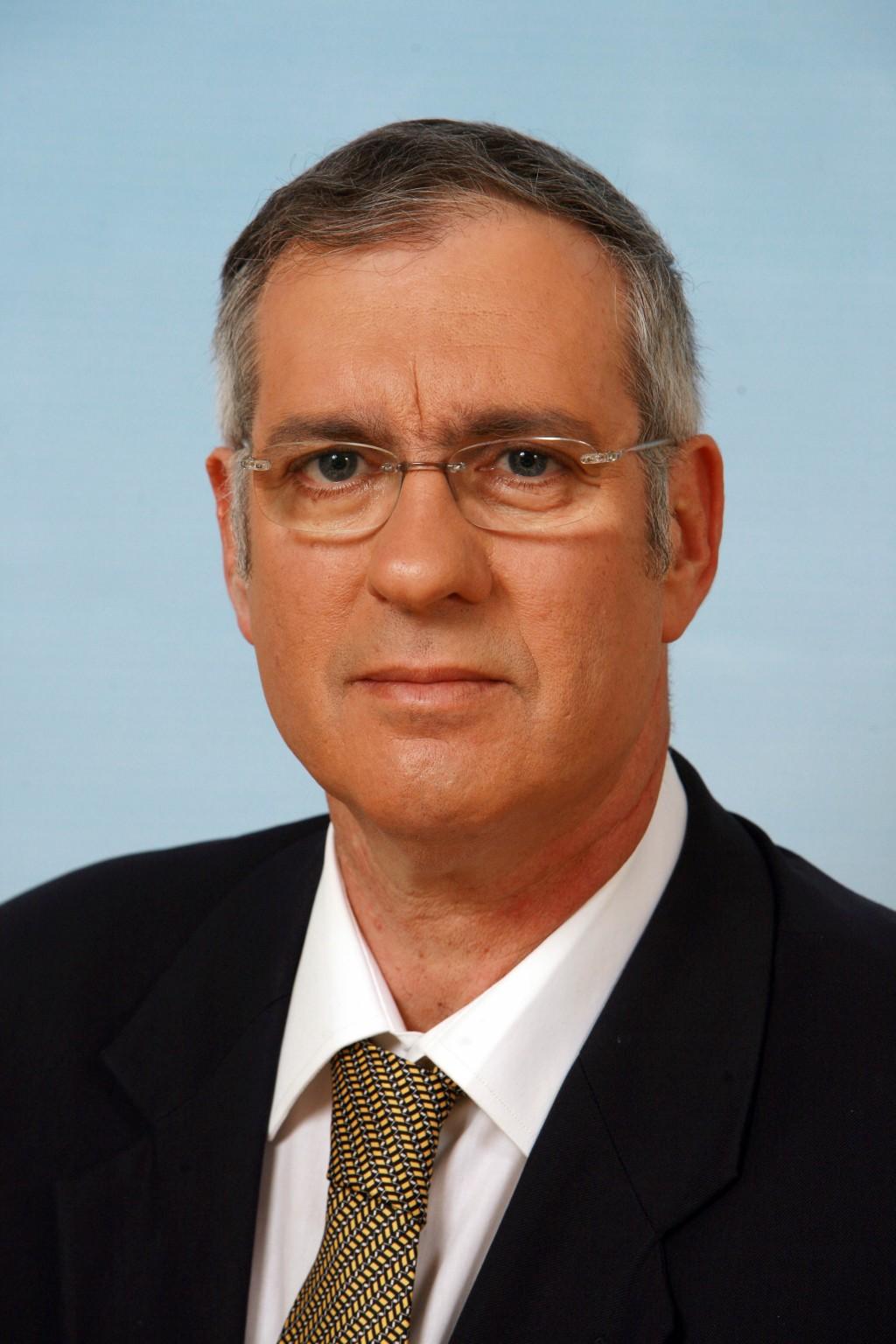 משה נסטלבאום, מנהל חטיבת החדשות בפועל בזמן הסערה (צילום: דוברות רשות השידור)