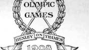 כרזה מאולימפיאדת לונדון, 1908