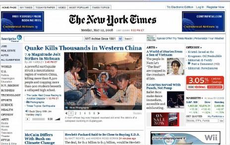 אתר הניו-יורק טיימס, לחצו להגדלה