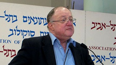 """פרופ' זאב סגל ז""""ל. תל-אביב, 8.5.09 (צילום: """"העין השביעית"""")"""