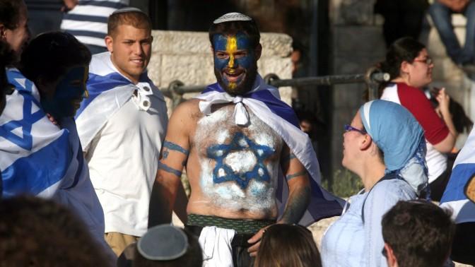 חגיגות יום ירושלים, שלשום (צילום: ליאור מזרחי)