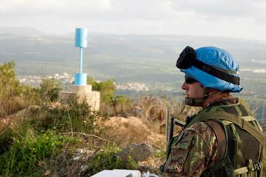 """חיל יוניפי""""ל בגבול לבנון-ישראל (צילום: UN Photo/Eskinder Debebe, רישיון cc by-nc-nd 2.0)"""