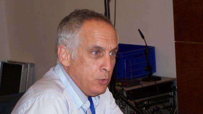 """הד""""ר מיכאל (מיקי) מירו, כנס הרדיו FM+, 05.04.13 (צילום: העין השביעית"""")"""