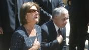 נשיא פולין ורעייתו, שנספו אתמול בהתרסקות מטוס, בעת ביקור ביד-ושם בשנת 2006 (צילום: אוליבייה פיטוסי)