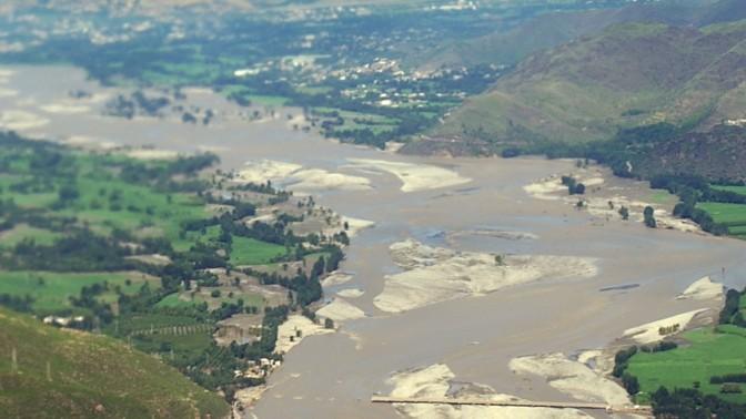 הצפות בפקיסטן (צילום: סמל מוניקה ק. סמית; DVIDSHUB, רישיון cc by 2.0)