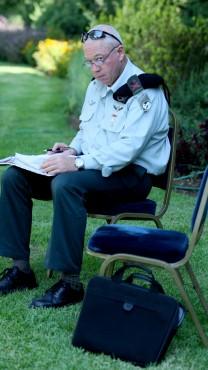 האלוף (מיל') יואב גלנט, 20.07.09 (צילום: משה שי)