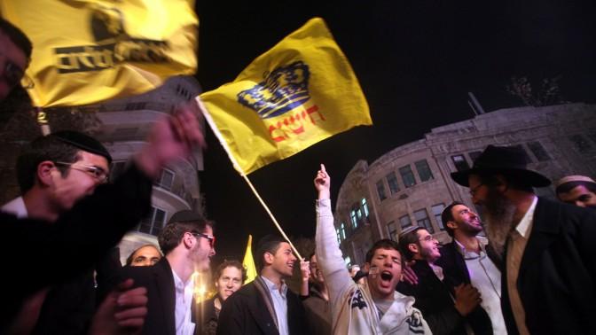הפגנה בכיכר ציון, אתמול (צילום: ליאור מזרחי)