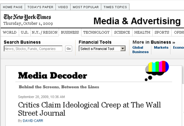 Critics Claim Ideological Creep at The Wall Street Journal