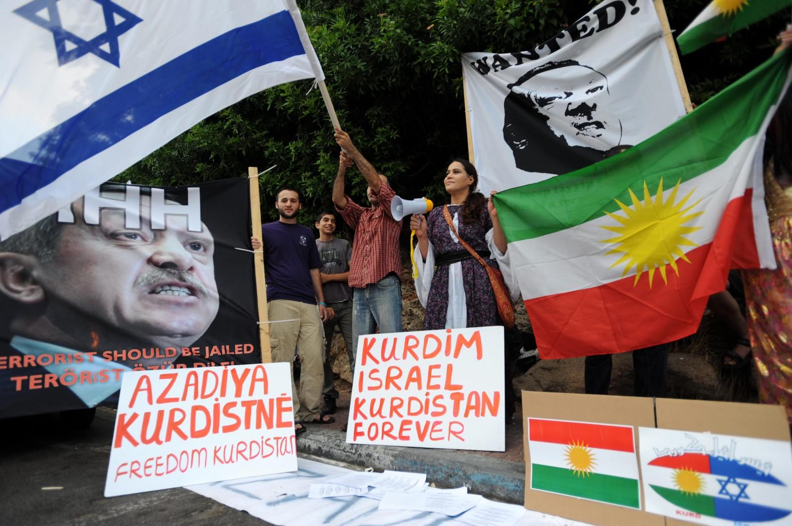 הפגנה אנטי-טורקית, 8.7.10 (צילום: גילי יערי)