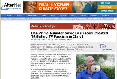 Has Prime Minister Silvio Berlusconi Created Titillating TV Fascism in Italy  Media and Technology  AlterNet