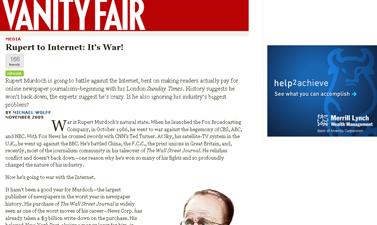 Michael Wolff on Rupert Murdoch  vanityfair.com
