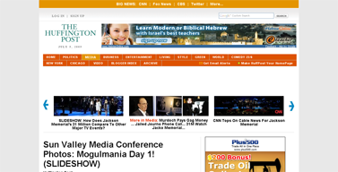 Sun Valley Media Conference Photos- Mogulmania Day 1! (SLIDESHOW)