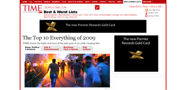 The Top 10 Everything of 2009 - TIME