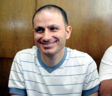 העבריין אסי אבוטבול, אתמול בבית-המשפט (צילום: יוסי זליגר)
