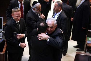 ראש הממשלה בנימין נתניהו, אתמול בטקס ההשבעה של הכנסת (צילום: יוסי זמיר)