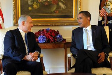 """ברק אובמה ובנימין נתניהו, אתמול בניו-יורק (צילום: אבי אוחיון, לע""""מ)"""