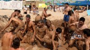 פסטיבל בומבמלה. חוף ניצנים, אתמול (צילום: אדי ישראל)