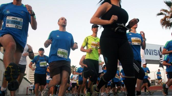 מרתון תל-אביב, היום (צילום: רוני שיצר)