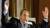 """יו""""ר העבודה אהוד ברק, אתמול בוועידת המפלגה (צילום: יוסי זליגר)"""