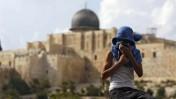 נער פלסטיני בשכונת ראס אל-עמוד במזרח ירושלים (צילום: פלאש 90)