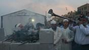 יהודים מקריבים קורבן פסח בירושלים, 21.3.2013 (צילום: נתי שוחט)