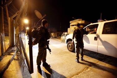 מחנה צבאי. סמוך אליו נפל אתמול קסאם (צילום: אדי ישראל)