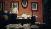 """פרט מתוך """"וולטר ליפמן"""" מאת סטנלי מלצוף, 1954"""