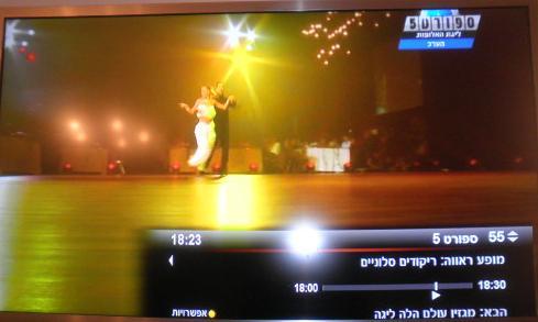 ריקודים סלוניים בערוץ הספורט